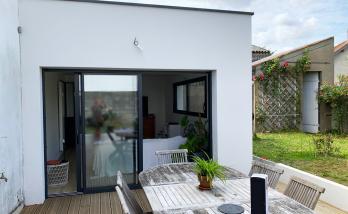 Extension maison salon séjour