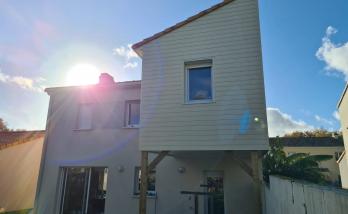 Fin des travaux - Surélévation de maison de 30 m² à Vertou