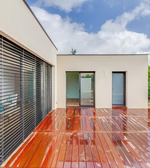 Extension de 60 m² à Vertou avec piscine