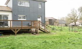 Extérieur - Extension de maison pour créer une suite parentale à Saint-Lumine-de-Clisson