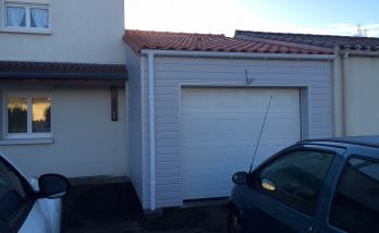 Garage en bardage bois de 29m2 à Vertou