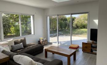 Espace salon - Extension de maison de 25 m² à Carquefou