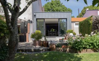 Extension de maison à Vertou ossature bois