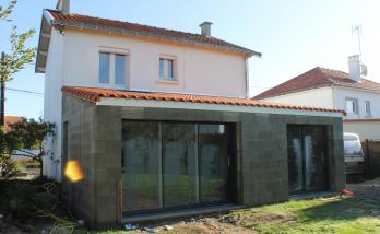 Extension de maison de Bouguenais -
