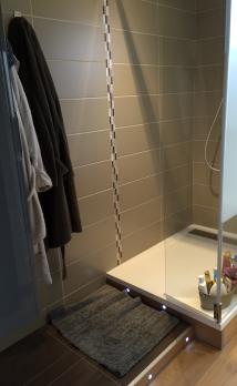 Rénovation totale d'une salle de bains à Vertou (44)