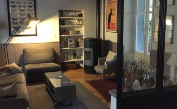 Vue intérieure - Surélévation d'une maison de 24 m² à Port Saint Père