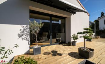 Extension et rénovation d'une maison à Vertou (44)