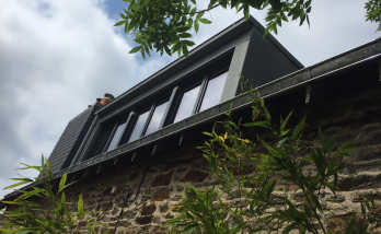 Création d'une lucarne en bardage zinc à Nantes (44)