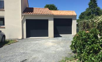 Création d'un garage en parpaing de 39 m² à Haute Goulaine (44)