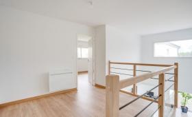 Espace chambre - Rénovation d'une maison à Sainte-Lumine-de-Clisson