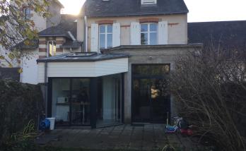 Rénovation d'une cuisine et de sa façade, à Nantes (44)