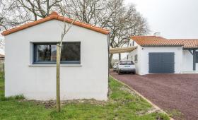 Création d'un garage et d'un carport à Pont-Saint-Martin (44)