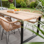 Installer une terrasse en pierre dans son jardin à Vertou